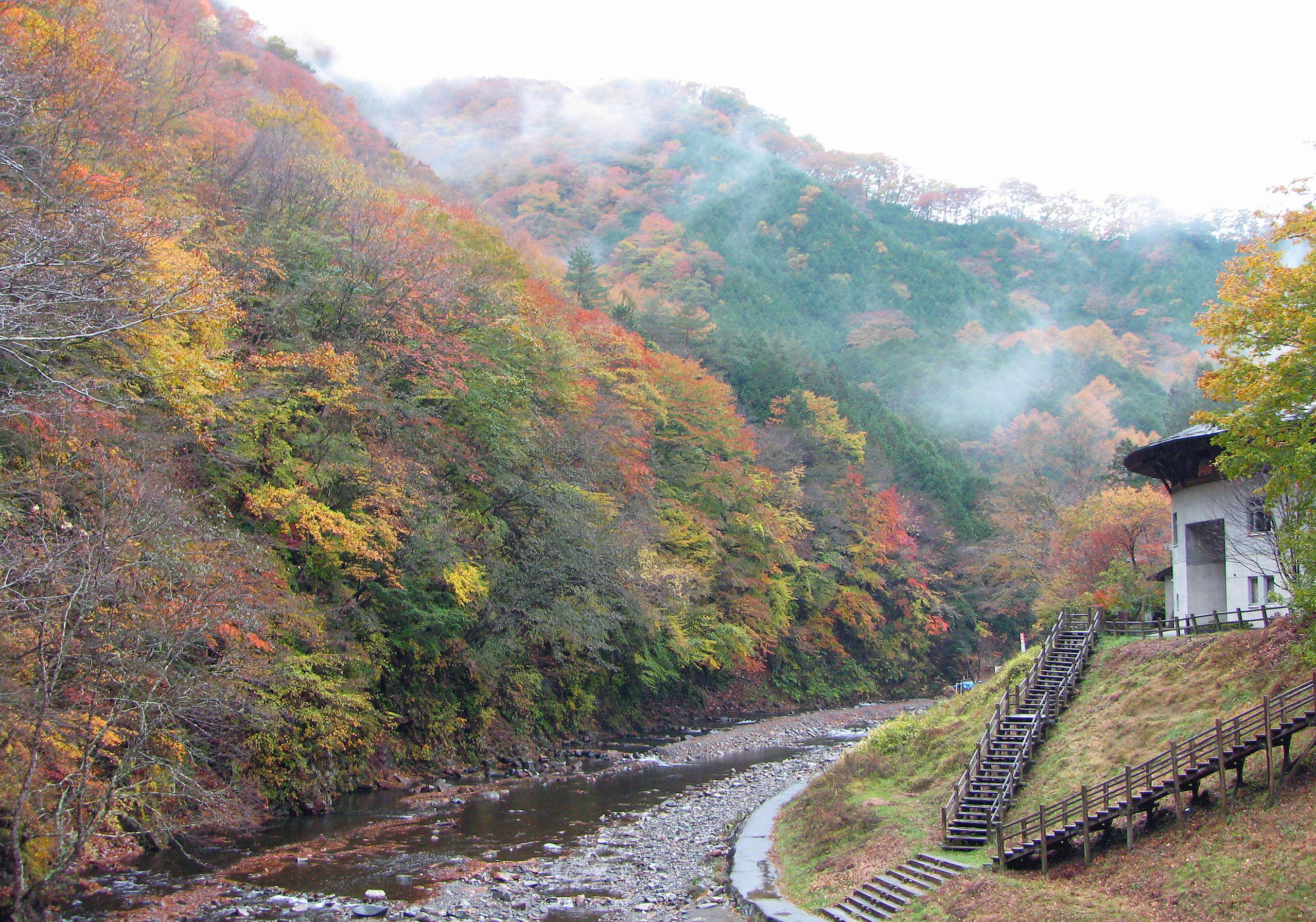 中津川峡谷2