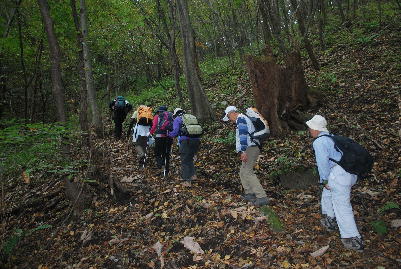 04.十二ケ岳登り 紅葉は始まったばかり