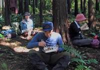 70.立花山先で昼食2