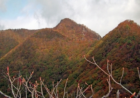 k22.子持山山頂を望む