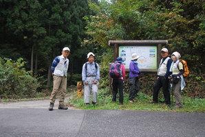 01.十二ケ岳登山口に到着