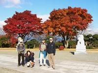 紅葉がきれいでした・平和公園